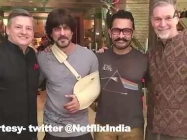 Aamir and Shah Rukh Doing a Film Together thumbnail